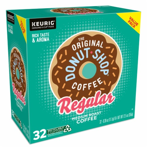 The Original Donut Shop Coffee Regular K-Cups Medium Roast Perspective: right