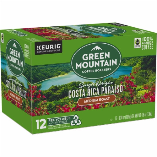 Green Mountain Costa Rica Coffee K-Cup Pods Perspective: right