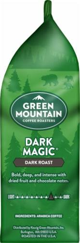 Green Mountain Dark Magic Dark Roast Ground Coffee Perspective: right