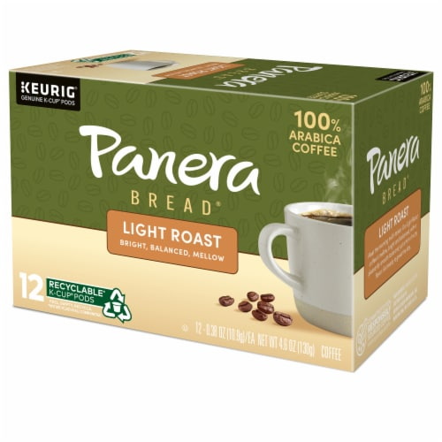 Panera Bread at Home Light Roast Coffee K-Cup Pods Perspective: right