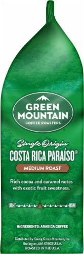 Green Mountain Coffee Roasters Costa Rica Paraiso Medium Roast Ground Coffee Perspective: right