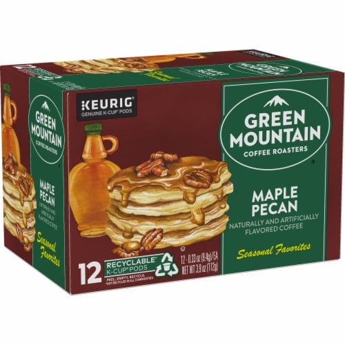 Green Mountain Coffee Limited Edition Maple Pecan Coffee K-Cup Pods Perspective: right