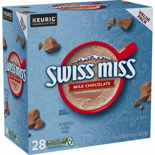 Swiss Miss® Milk Chocolate Hot Cocoa K-Cup® Pods Value Pack Perspective: right