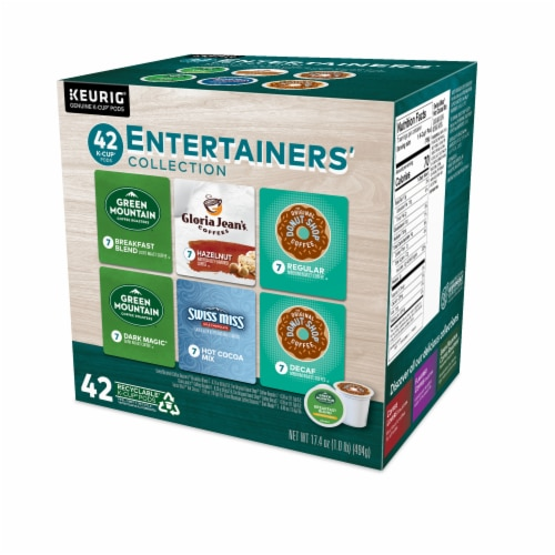 Keurig® Entertainers' Collection K-Cup Pods Variety Pack Perspective: right