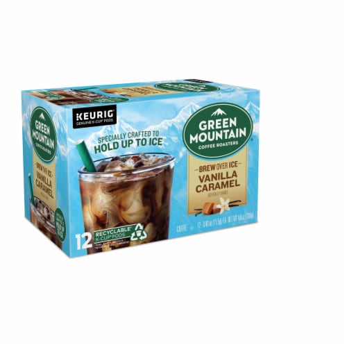Green Mountain Coffee Roasters Brew Over Ice K-Cup Pods Perspective: right