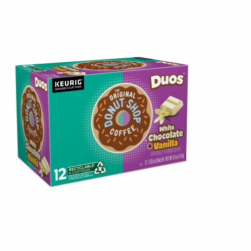 The Original Donut Shop Dous White Chocolate Vanilla K-Cup Pods Perspective: right