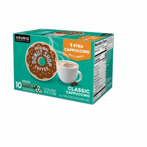 The Original Donut Shop One Step Classic Cappucino K-Cup Pods Perspective: right
