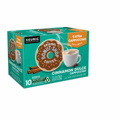 The Original Donut Shop Cinnamon Dulce Cappucino K-Cup Pods Perspective: right