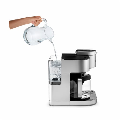 Keurig® K-Duo Special Edition Single Serve K-Cup Pod & Carafe Coffee Maker - Silver Perspective: right