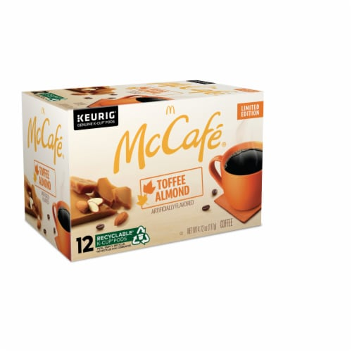 McCafe® Toffee Nut K-Cup Pods Perspective: right