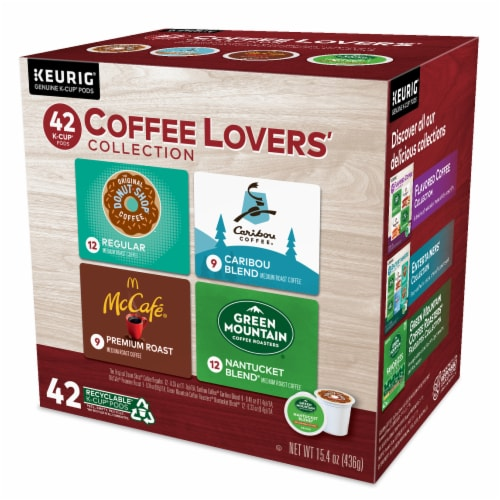 Keurig Coffee Lovers' Collection Single-Serve K-Cup Pod Variety Pack Perspective: right