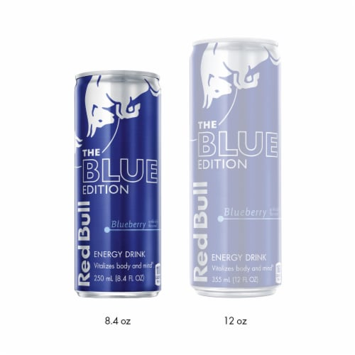 Red Bull The Blue Edition Blueberry Energy Drink Perspective: right