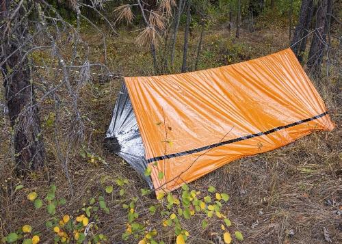 MEKKAPRO Emergency Survival Tent Shelter – 2 Person Tent – Survival Emergency Shelter, Perspective: right