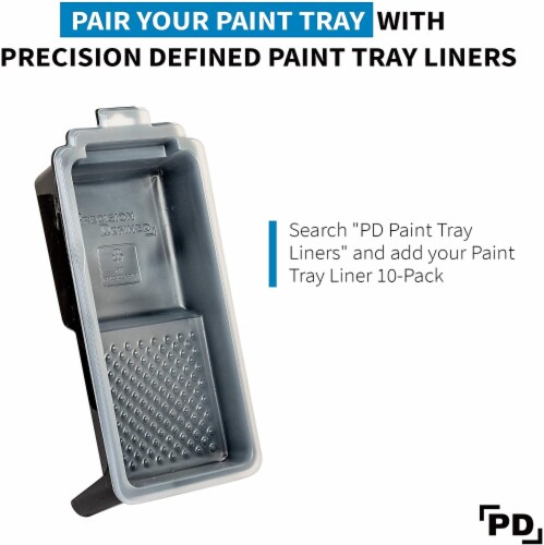 Precision Defined Supreme Paint Roller Tray Set 2-Pack (4-Inch) Perspective: right