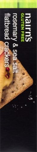 Nairn's Gluten Free Rosemary & Sea Salt Flatbread Crackers Perspective: right