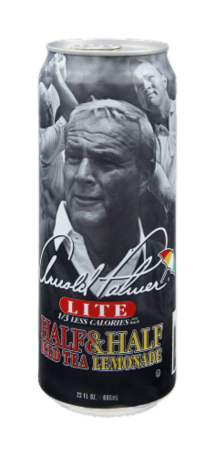 AriZona Arnold Palmer Lite Half Iced Tea & Half Lemonade Perspective: right
