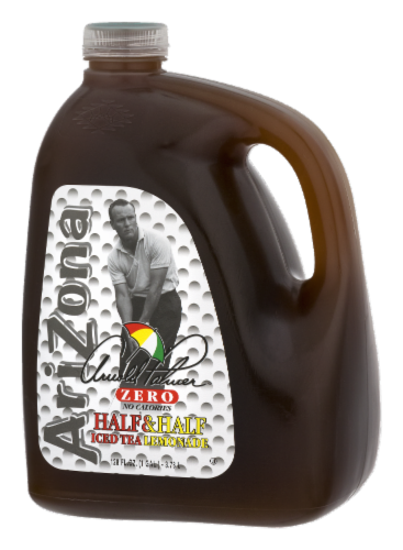 AriZona Arnold Palmer Zero Calorie Iced Tea and Lemonade Perspective: right