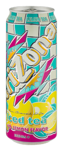 AriZona Iced Tea With Lemon Perspective: right