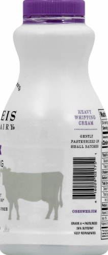 Oberweis Heavy Whipping Cream Perspective: right
