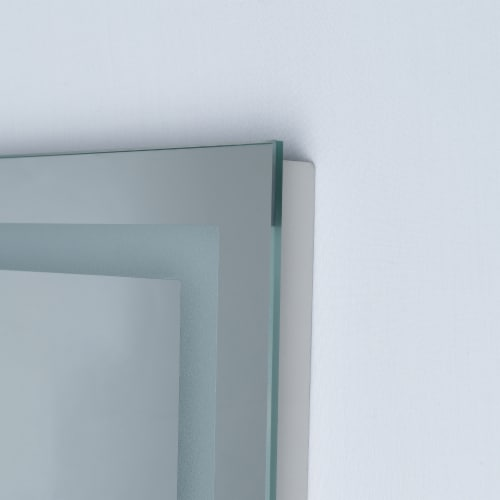 ExBrite Rectangular LED Wall Mounted Full Length Body Mirror Perspective: right