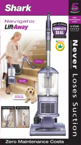 Shark® Navigator Lift-Away Upright Canister Vacuum Perspective: right
