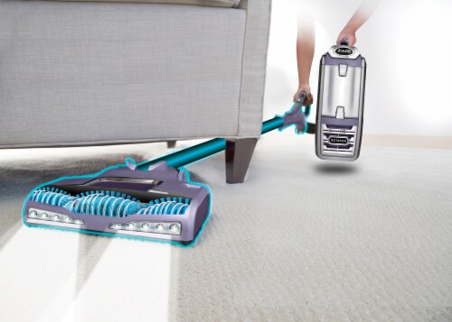 Shark® Rotator Powered Lift-Away Deluxe Vacuum - Purple Perspective: right