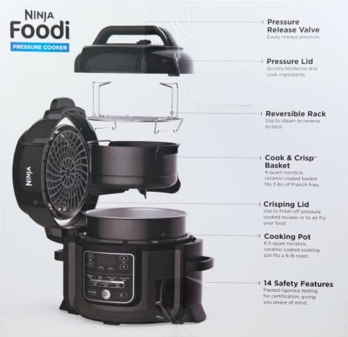 Ninja® Foodi Pressure Cooker - Black Perspective: right