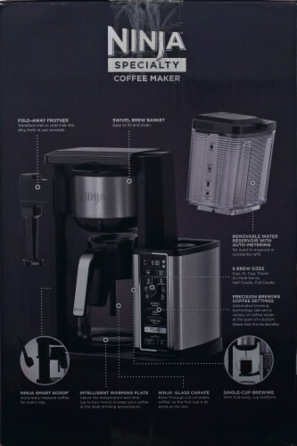 Ninja® Specialty Coffee Maker - Black/Silver Perspective: right