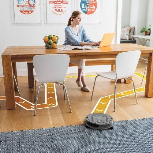 Shark® ION Robot Vacuum with Wi-Fi Perspective: right