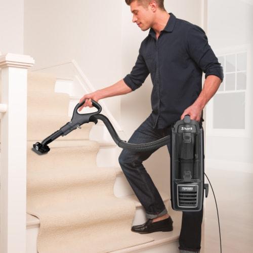 Shark® ZU621 Rotator Powered Lift-Away Upright Vacuum Perspective: right