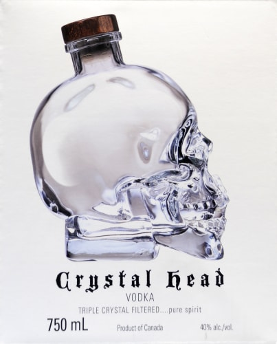 Crystal Head Vodka Perspective: right