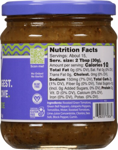 Fody™ Foods Salsa Verde Perspective: right