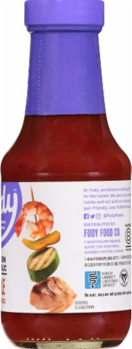 Fody Foods Maple BBQ Sauce Perspective: right