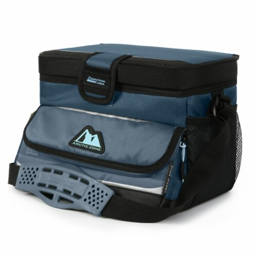 Arctic Zone Ultimate Zipperless Cooler - Blue Perspective: right