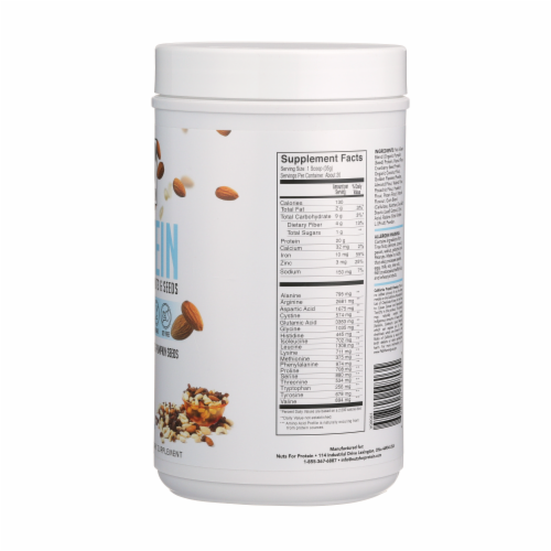 Nuts For Protein Trail Mix Nuts & Seeds Plant-Based Protein Perspective: right