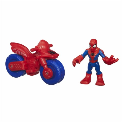 Hasbro Marvel Super Hero Adventures Spider-Man Action Figure Perspective: right