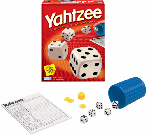 Hasbro Yahtzee Game Perspective: right