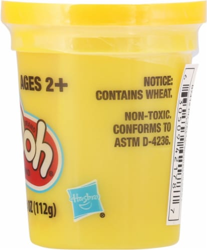 Play-Doh Single Can - Yellow Perspective: right