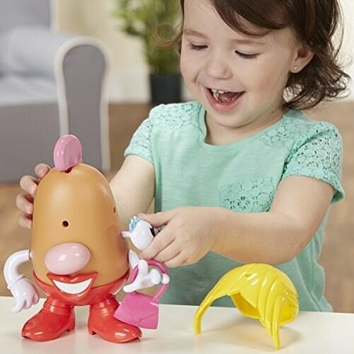 Playskool Mrs. Potato Head Playset Perspective: right
