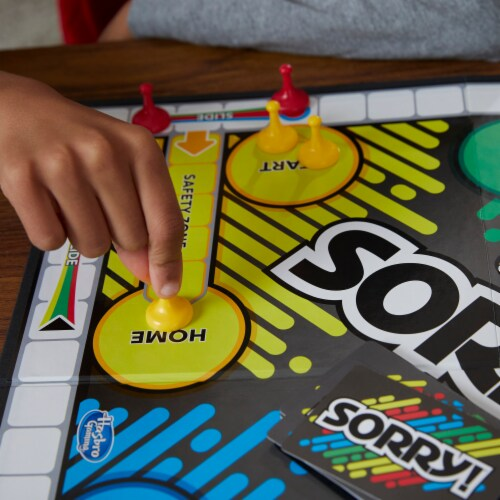 Hasbro Sorry! Board Game Perspective: right