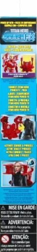 Hasbro Marvel Infinity War Titan Hero Series Black Widow with Titan Hero Power FX Port Perspective: right