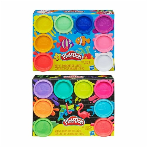 Play-Doh 8-Tube Starter Pack Perspective: right