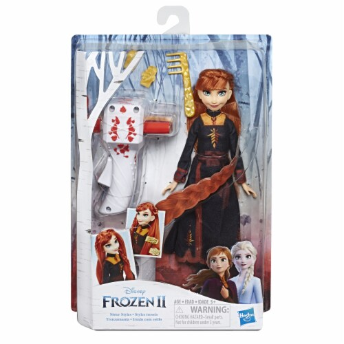 Hasbro Disney Frozen 2 Sister Styles Fashion Doll - Assorted Perspective: right