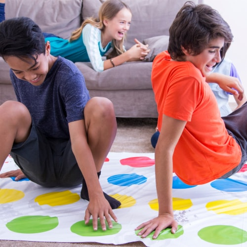 Hasbro Gaming Twister Kids Game Perspective: right