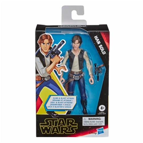 Hasbro Star Wars Galaxy of Adventures Action Figures - Assorted Perspective: right