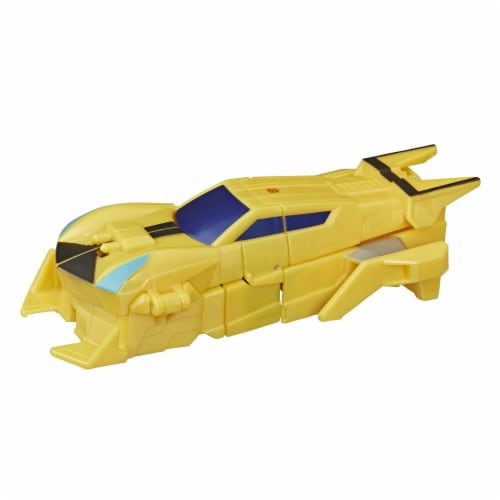 Transformers Bumblebee Cyberverse Adventures Sting Shot Action Figure Toy Perspective: right
