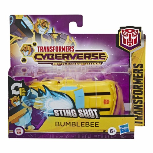 Hasbro Transformers Cyberverse 1-Step Changer - Assorted Perspective: right