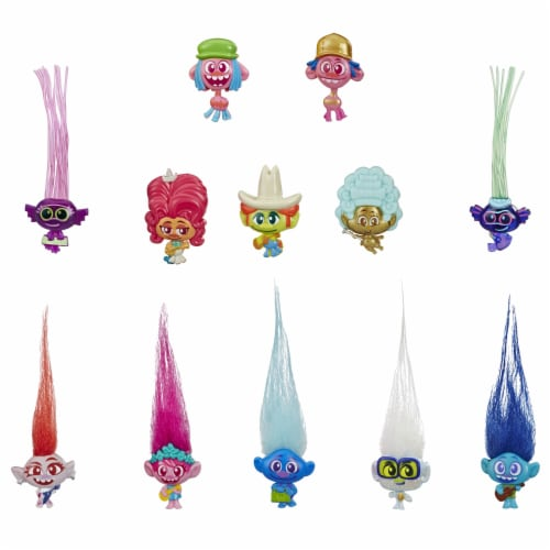Hasbro DreamWorks Trolls World Tour Tiny Dancers Series 1 Blind Bag Perspective: right