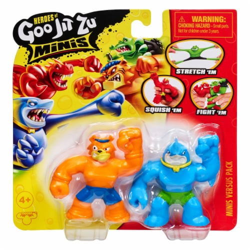Moose Toys Heroes of Goo Jit Zu Minis Versus Pack - Assorted Perspective: right