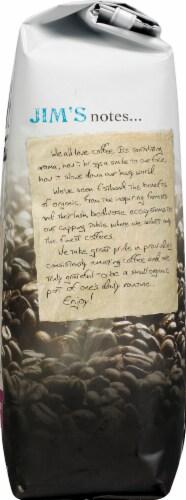 Jim's Organic Coffee Jo-Jo's Java Medium Light Roast Whole Bean Coffee Perspective: right